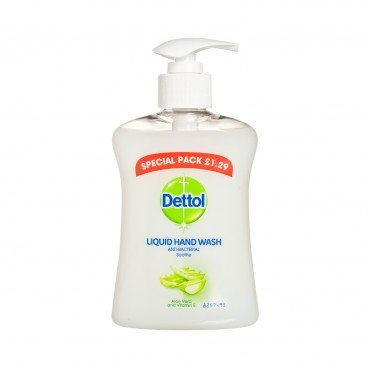 DETTOL(PARALLEL IMPORT) - Liquid Ph balanced Handwash aloe - 250ML