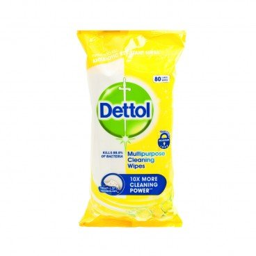 DETTOL(PARALLEL IMPORT) - Clean Fresh Multi Purpose Cleaning Wipes citrus - 80'S