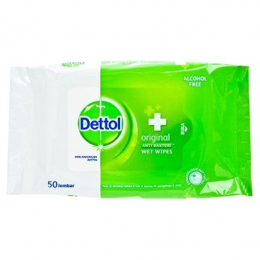 DETTOL(PARALLEL IMPORT) - Anti Bacterial Wet Wipes - 50'S