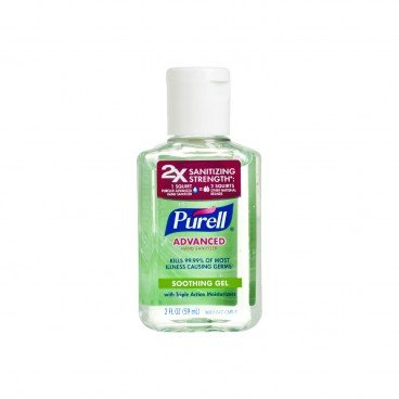PURELL - Advanced Hand Sanitizer Refreshing Gel flip Top Cap - 59ML