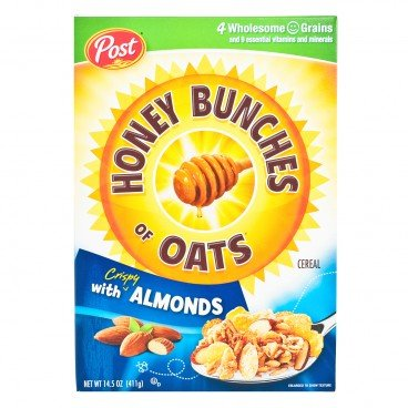 POST(PARALLEL IMPORT) - Honey Bunches Of Oats almond - 411G
