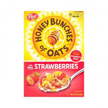 POST(PARALLEL IMPORT) - Honey Bunches Of Oats real Strawberry - 368G