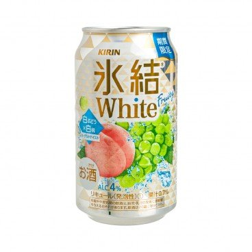 KIRIN - Fruit Beer white Grape peach - 350ML