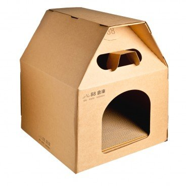 NO.88 - Cardboard Pet House For Cats - PC