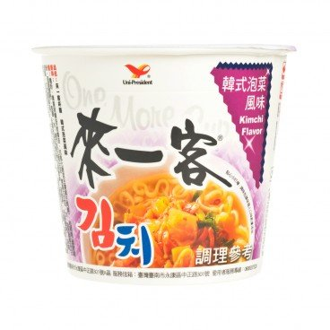 UNI-PRESIDENT - One More Cup korean Kimchi Flavor - 67G