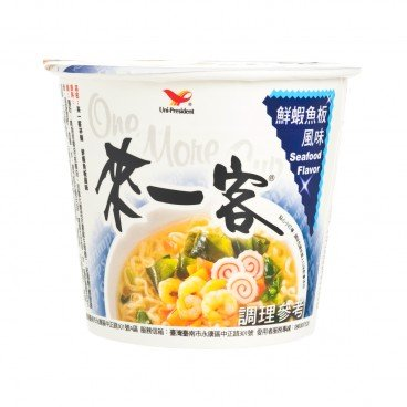 UNI-PRESIDENT - One More Cup seafood Flavor - 63G