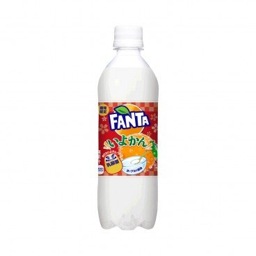FANTA - Iyokan Yogurt Flavoured Sparkling Beverage - 490ML