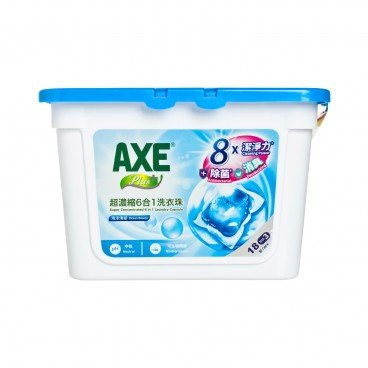 AXE - Plus Super Concentrated Laundry Capsule ocean Breeze - 18'S+3'S