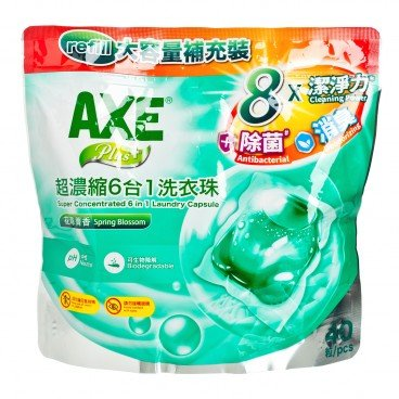 AXE - Plus Super Concentrated Laundry Capsule Refill Spring Blossom - 40'S