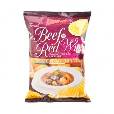 CALBEE - Potato Chips french Beef In Red Wineflavoured - 70G