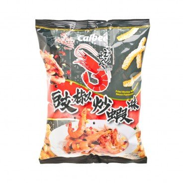 CALBEE - Prawn Crackers fried Shrimp With Blackbean Sauce Flavoured - 75G