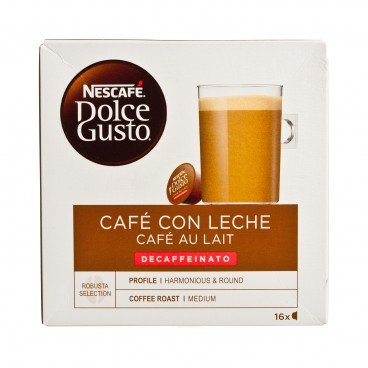 NESCAFE DOLCE GUSTO - 牛奶咖啡-低咖啡因 - 16'S