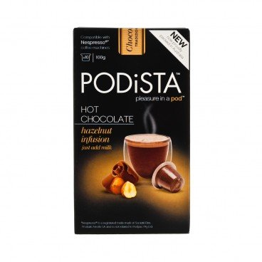 PODISTA - Hazelnut Chocolate - 10'S