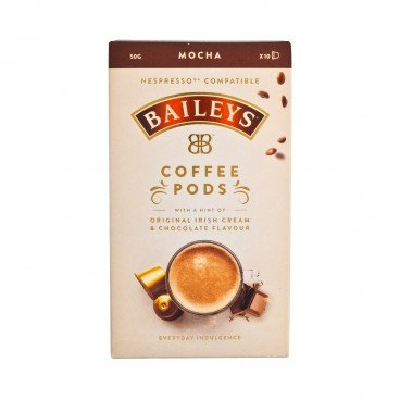 BAILEY'S - Mocha Flavord Coffee - 10'S