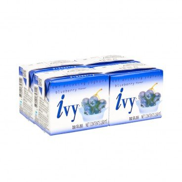 IVY - Drinking Yoghurt blueberry - 180MLX4
