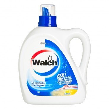 WALCH - Anti bacterial Laundry Detergent lemon - 3L
