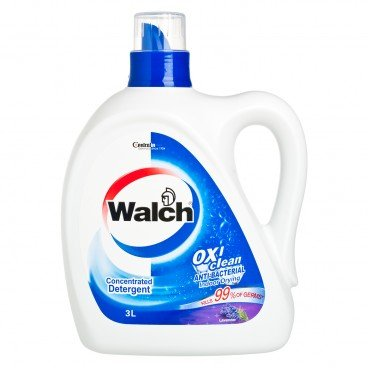 WALCH - Anti bacterial Laundry Detergent lavender - 3L