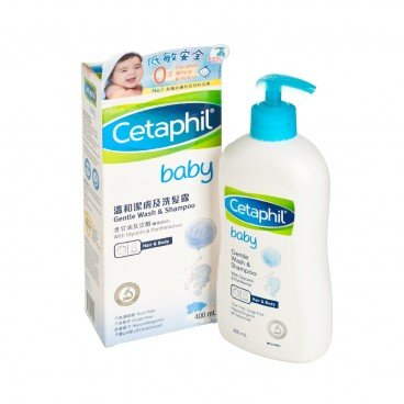 CETAPHIL - Baby Gentle Wash Shampoo - 400ML