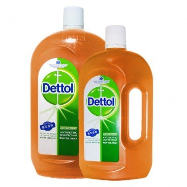 DETTOL - Antiseptic Liquid Set - 1.2L+750ML