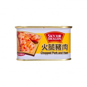 SKY DRAGON - Chopped Pork And Ham - 198G
