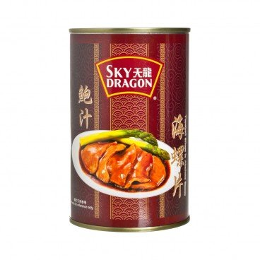 SKY DRAGON - Topshell Slices In Abalone Sauce - 425G