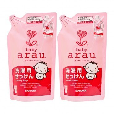 ARAU - Baby Laundry Soap Refill Twins Pack - 720MLX2