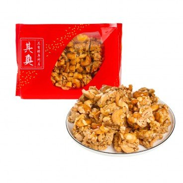 YUEN LONG KEI O - Cashew Walnut Brittle - 227G