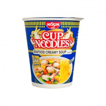 NISSIN - Cup Noodle seafood Thailand Version - 70G