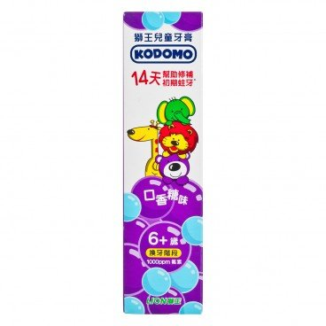 LION - Kodomo Children Toothpaste Age 6 - 60G