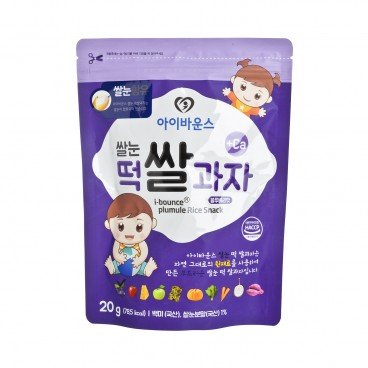 I-BOUNCE - Bebe Stick Rice Snack Blue Berry - 20G