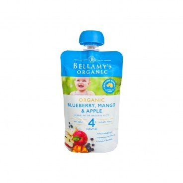 BELLAMY'S ORGANIC - Organic Blueberry mango Apple - 120G