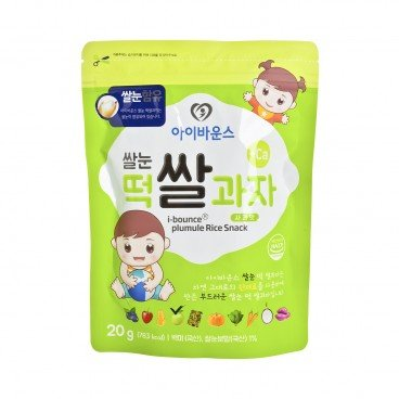 I-BOUNCE - Bebe Stick Rice Snack Apple - 20G