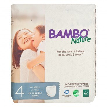 BAMBO NATURE - Rash Free Eco Training Pants M 8 15 Kg - 22'S