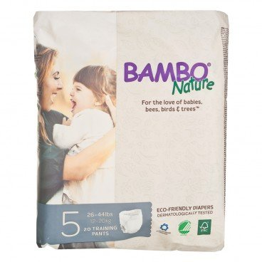 BAMBO NATURE - Rash Free Eco Training Pants L 12 20 Kg - 20'S