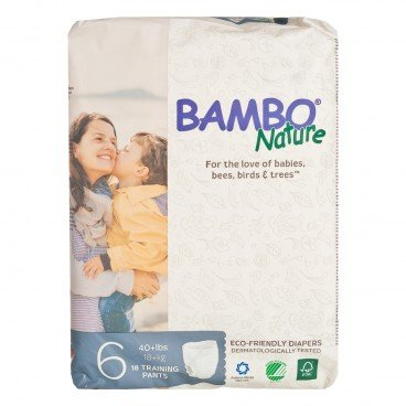 BAMBO NATURE - Rash Free Eco Training Pants Xl 18 Kg - 18'S