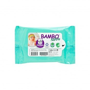 BAMBO NATURE - Rash Free Wet Wipes - 10'S
