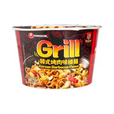 NONG SHIM - Grill Fried Noodle Korea Barbecue Flavor - 98G