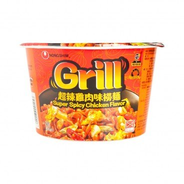 NONG SHIM - Grill Fried Noodle Super Spicy Chicken Flavor - 98G