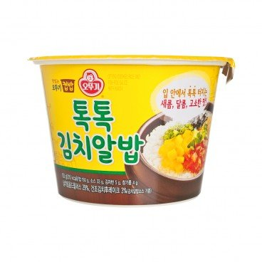 OTTOGI - Cooked Rice And Fish Roe Sauce With Kimchi - 192G