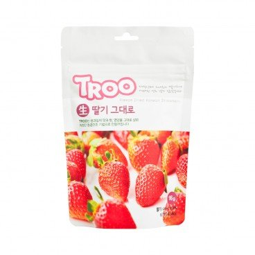 TROO - Korean Natural Freeze dried Fruit Strawberry - 16G