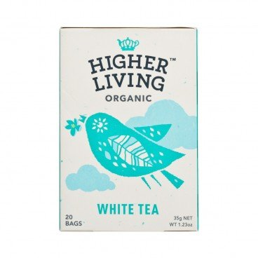 HIGHER LIVING - 有機茶包 - 白茶 - 35G