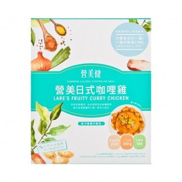LARES BEAUTY - Laress Fruity Curry Chicken - 200G