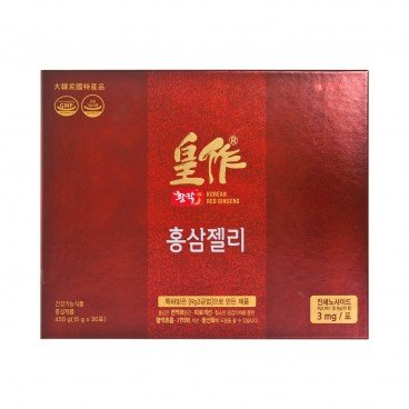 LOTTE - Red Ginseng Jelly - 15MLX30