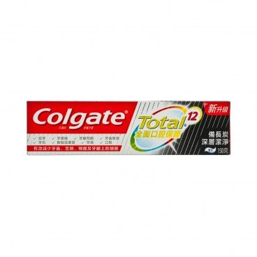 COLGATE - Total charcoal Deep Clean Toothpaste - 150G