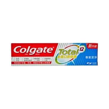 COLGATE - Total professional Clean Toothpaste - 193G