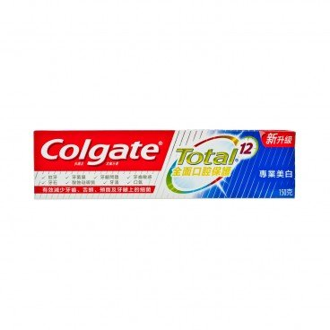 COLGATE - Total professional White Toothpaste - 150G