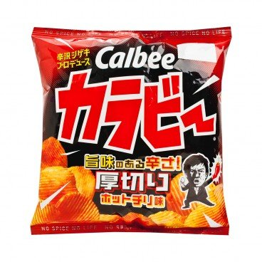 CALBEE - Thick Sliced Spicy Chips - 55G