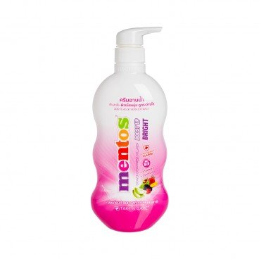 MENTOS - Body Wash Pink Whitening - 500ML