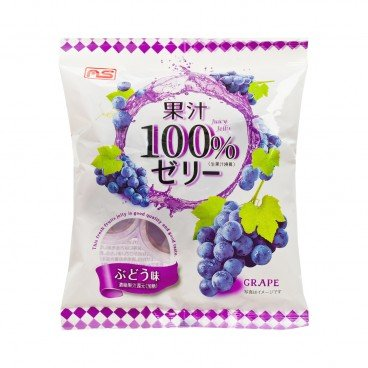 AS - Jelly 100 Juice Grape - 24G X 6'S