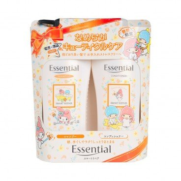 ESSENTIAL - My Melody Twin Star Limited Pack Moisturizing Frizz free - 480MLX2